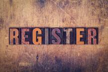 word register