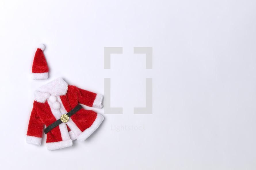 Santa's coat and hat