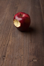 bite out of an apple