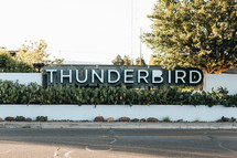 thunderbird sign