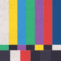 television color bars background.