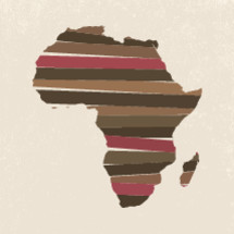 Africa illustration.