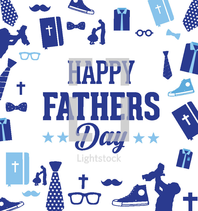 Happy Father's Day background image