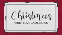 Farmhouse Christmas slide video graphic background
