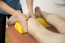 getting a calf massage