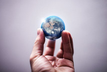 holding the world in your hands
