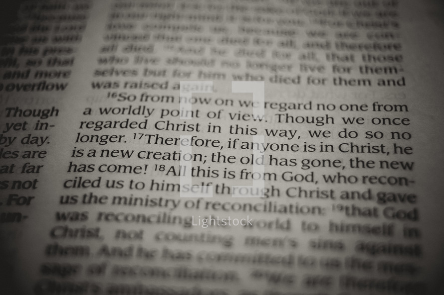 Bible verse - reconciliation