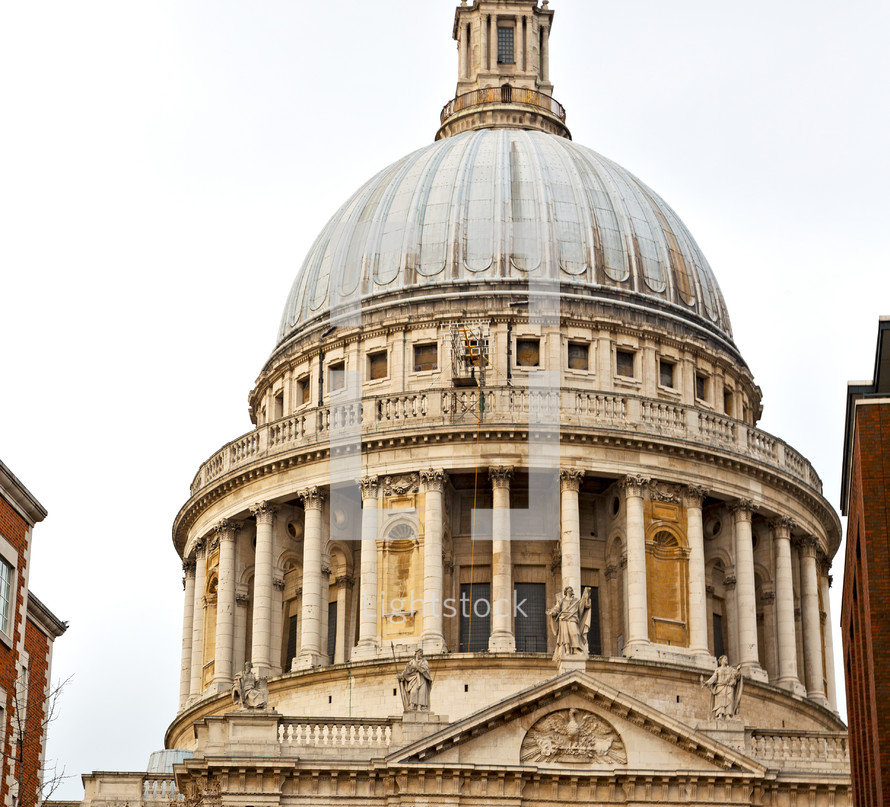 dome of St Paul Cathedral
