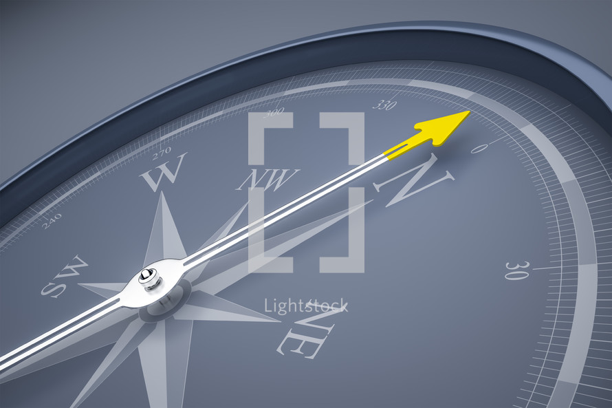 compass arrows