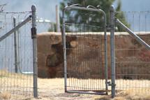 open fence gate
