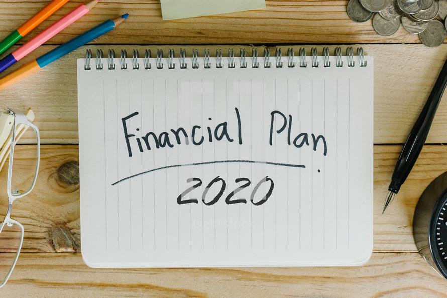 Financial Plan 2020