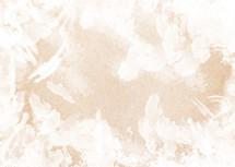 White paint strokes on handmade paper