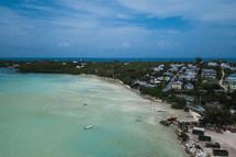 Bahama shoreline
