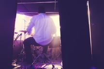 drummer on stage