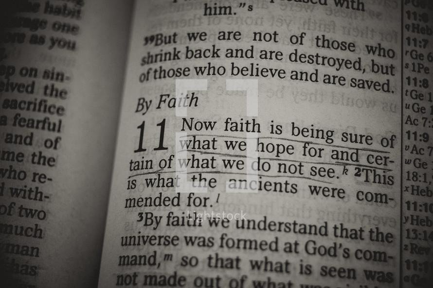 faith - Bible verse