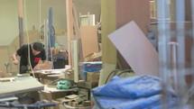 man in a workshop