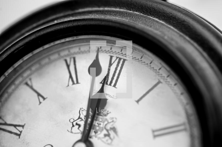 Clock closeup