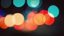 Bokeh and lights
