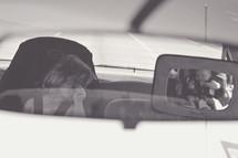 children in carseats