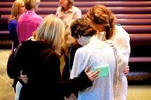 women in prayer