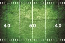 grunge football field.