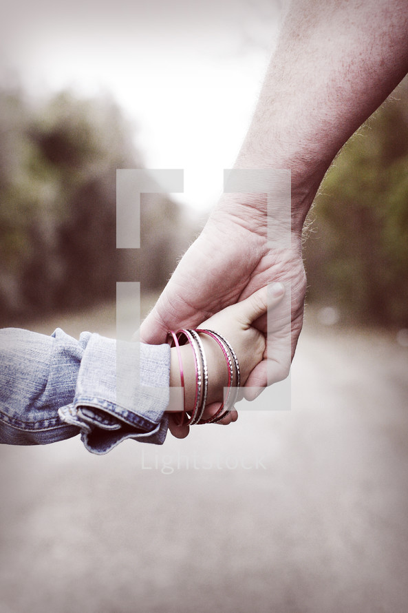 Father And Daughter Holding Hands Photo By Meshali Mitchell Photo