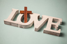 Love with cross