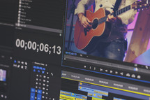 Church video editing and production screenshot