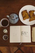 breakfast and faith