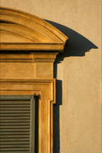 shadow from and exterior window