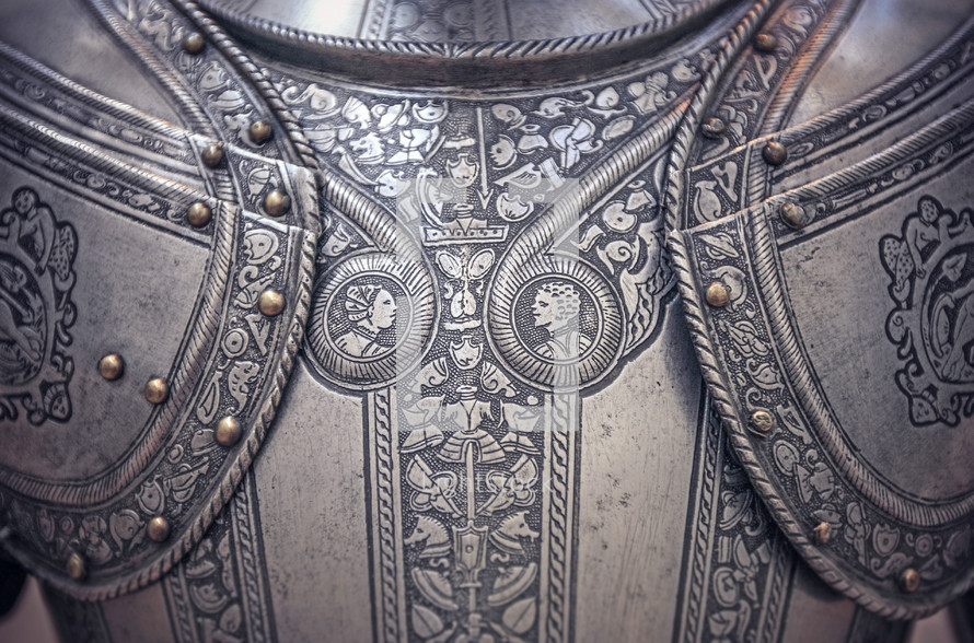 a knights armor