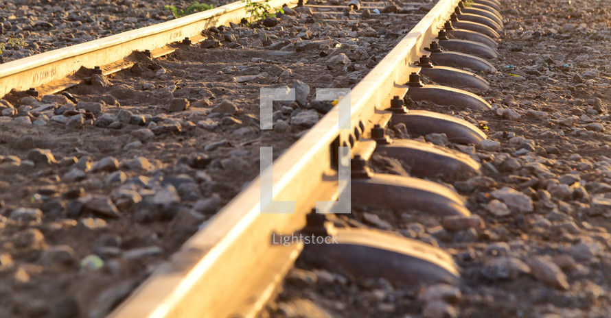 train tracks in Ethiopia