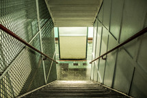 stairway to a subway
