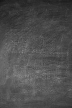 blank black chalkboard background