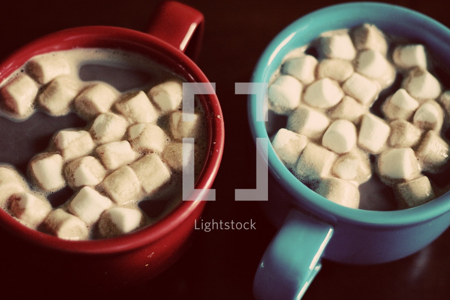 marshmallows in hot cocoa