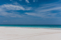 white sand beaches of the Bahamas