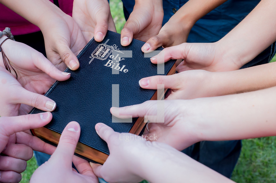 all hands on the Bible