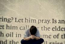 let him pray