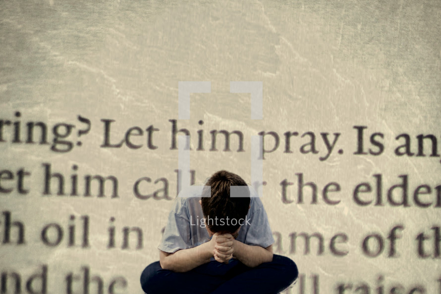 let him pray