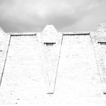 brick wall in Iran