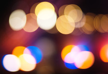 Beautiful multi-colored bokeh background for use in design
