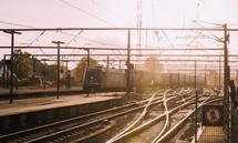 electric rail line
