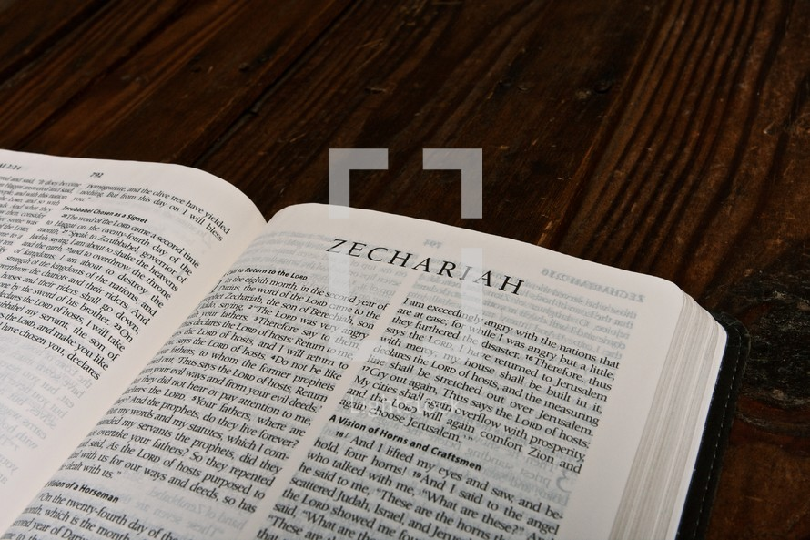 Scripture Titles - Zechariah