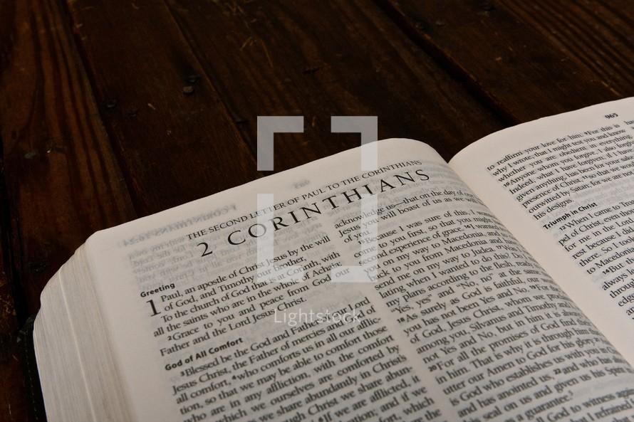 Scripture Titles - 2 Corinthians