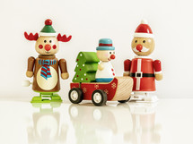 wooden Christmas figurines