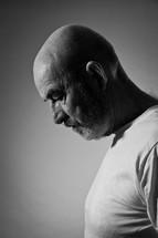 a man in sorrow