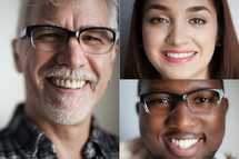 collection of head shots of men and women