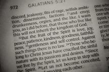 Galatians 5:22