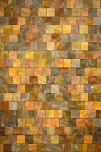 mosaic of colorful tiles