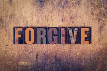 word forgive